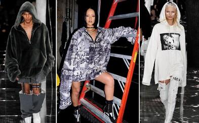 Rihanna predstavila na Fashion Weeku v NYC svoju debutovú kolekciu Puma
