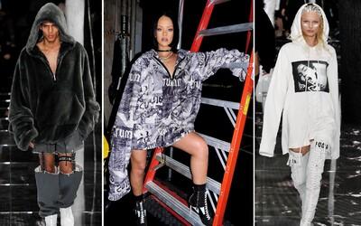 Rihanna představila na Fashion Weeku v NYC svou debutovou kolekci Puma