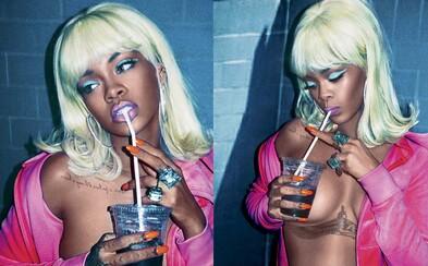 Rihanna rozšiřuje své portfolio nahých fotek, nově se objeví nahoře bez na obálce V Magazine