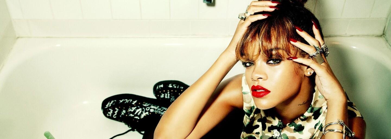Rihanna se nemohla dívat na svou sexuální scénu v nové části seriálu Bates Motel. Na Instagramu se podělila o vtipnou reakci