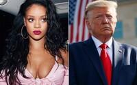 Rihanna tvrdí, že Donald Trump je mentálne chorý. Jej slová potvrdzuje aj psychológ z Harvardu