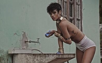 Rihanna v sérii dráždivých fotiek pre Vogue