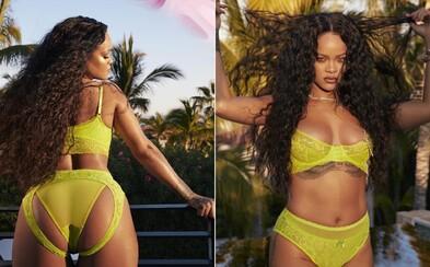 Rihanna vystavuje zadok na Instagrame v novej kolekcii svojho spodného prádla. V backstage videu ju striedajú plus-size modelky