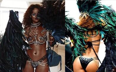 Rihannina odhalená postava byla na festivalu v Barbadosu cílem každého pánského oka