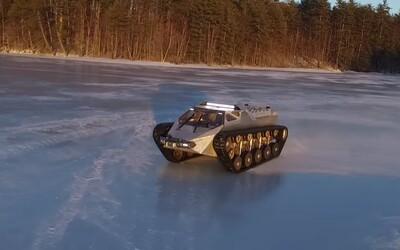 Ripsaw EV-2: 650-koňové pásové vozidlo, s ktorým bude zombie apokalypsa hračkou
