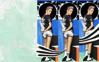 Rita Ora a její dýmová kolekce White Smoke s adidas Originals