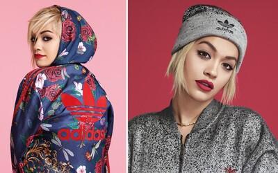 Rita Ora posílá další dvojici packů s adidas Originals