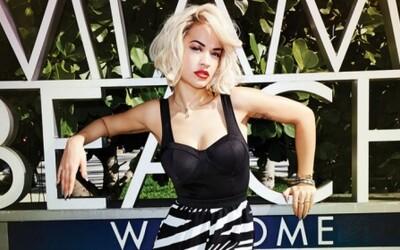 Rita Ora v lookbooku Madonninej značky Material Girl