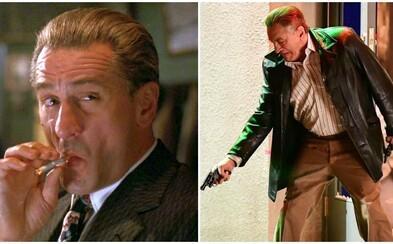Robert De Niro, Al Pacino a ďalší budú v gangsterke The Irishman digitálne omladení celú prvú polovicu