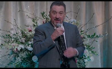 Robert De Niro je starnúci, no stále ostrý komik a brat Dannyho DeVita v novej melancholickej komédii