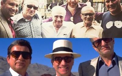 Robert De Niro, Joe Pesci a Al Pacino už zarezávajú na pľaci. Scorseseho gangsterka The Irishman prichádza s novými fotografiami