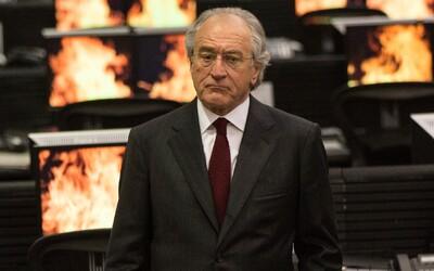 Robert DeNiro je v neuveriteľnom skutočnom príbehu od HBO cynickým finančníkom, ktorý spreneverí  viac ako 60 miliárd dolárov