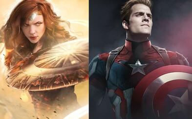 Robert Downey Jr. jako Batman či Henry Cavill jako Captain America. Superhrdinové si vyměnili herecké představitele