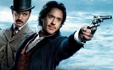 Robert Downey Jr. bude Sherlockom Holmesom aj po tretíkrát. Záverečná časť trilógie dorazí na Vianoce v roku 2020