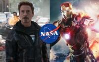 Robert Downey Jr. konečně zareagoval na pomoc agentury NASA, která má zachránit Tonyho Starka z vesmíru