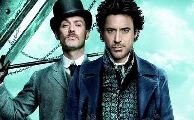 Robert Downey Jr. natočí tretieho Sherlocka ešte tento rok!