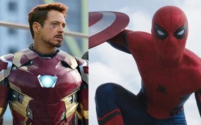 Robert Downey Jr. sa čoby Iron Man pridáva k sólovke Spider-Mana s názvom Homecoming!