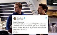 Robert Downey Jr. si uťahuje z Chrisa Evansa. Ten je vo svete technológií úplne stratený