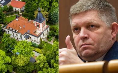 Robert Fico dostane pokutu 40-tisíc €, ak neukáže faktúry za luxusný kaštieľ vo Vinosadoch