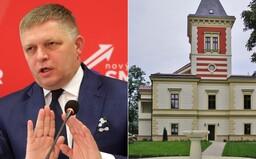 Robert Fico údajne dočasne býva v luxusnom historickom kaštieli pri Bratislave za milióny eur. Komu patrí?