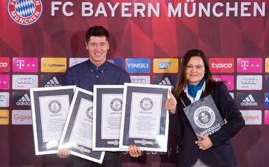 Robert Lewandowski je už oficiálne v Guinnessovej knihe rekordov za svoju päťgólovú kanonádu