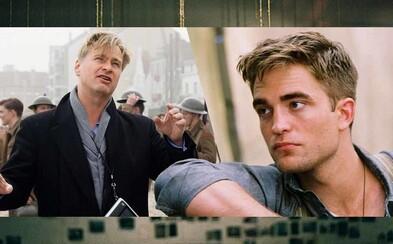 Robert Pattinson označil scenár k filmu Christophera Nolana za neskutočný. Čítať ho mohol len sám a v zamknutej miestnosti