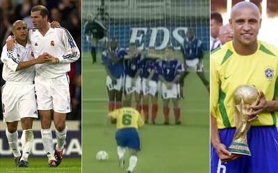 Roberto Carlos - malý veľký obranca, ktorého ľavačka naháňala strach súperovým brankárom
