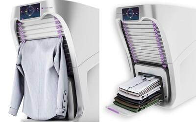 Robotické zařízení, které ti poskládá tvé oblečení a ještě ti z něj odstraní i nerovnosti. Život se může stát jednodušším