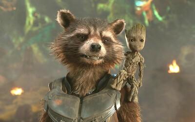 Rocket Raccoon bude dôležitou časťou príbehu Guardians of the Galaxy 3. Dozvieme sa viac o jeho minulosti a jazvách
