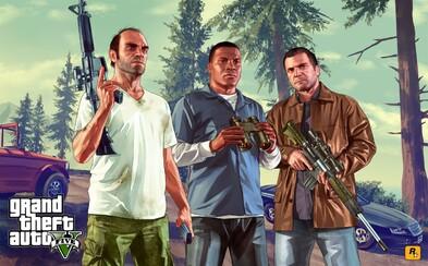 Rockstar Games prodalo 100 milionů kusů GTA V. Lépe už na tom jsou jen dvě hry
