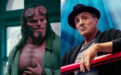 Rocky mal mať v Creed 2 súboj s Ivanom Dragom a Hellboy potvrdzuje drsnejší aj krvavejší tón