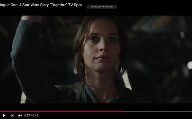 Rogue One láka do kina atmosférickou upútavkou naháňajúcou zimomriavky, ktorá vám spríjemní čakanie na premiéru