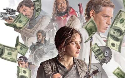 Rogue One v čele s Darth Vaderem dokázalo v kinech vydělat miliardu dolarů a stává se tak 28. filmem, kterému se to podařilo