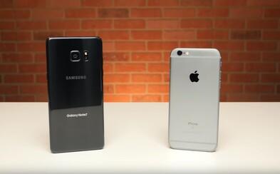 Rok starý iPhone 6s porazil nový Samsung Galaxy Note 7 v testu rychlosti spouštění aplikací