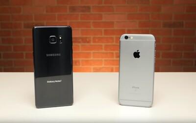 Rok starý iPhone 6s porazil nový Samsung Galaxy Note7 v teste rýchlosti spustenia aplikácií