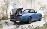 Rolls-Royce ohromil unikátním kabrioletem se slunečníkem, který může být nejdražším automobilem na světě