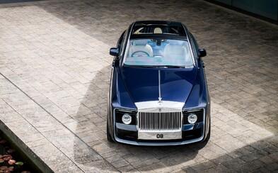 Rolls-Royce ukázal svoji pýchu. Sweptail je novým nejdražším autem na světě
