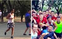 Ronaldinho hrá futbal aj v paraguajskom väzení. S odvolaním opäť neuspel