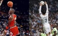 Ronaldo sa vďaka zakončeniu rukami ocitol v mnohých vtipných fotomontážiach. Stane sa z neho nový Jordan?