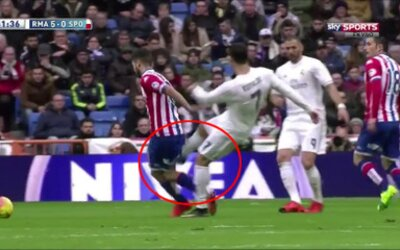 Ronaldo v poslednej dobe zákernými zákrokmi nešetrí. Rozhodcovia však jeho činy prehliadajú a fanúšikom začína vrieť krv