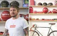 Ross zbiera Supreme kúsky už vyše 20 rokov. Doma ich má viac než 1000 a teraz sa všetko rozhodol predať
