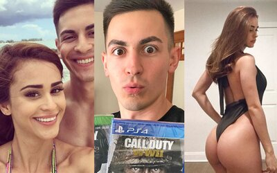 Rozešel se s nejkrásnější rosničkou, aby se mohl soustředit na hraní Call of Duty