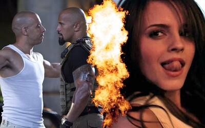 Rozhádaní Vin Diesel a Dwayne Johnson, plachá Emma Watson a ďalšie herecké hviezdy, ktoré spolu odmietli stáť pred kamerou