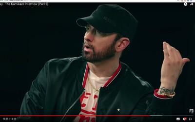 Rozhnevaný Eminem pochválil disstrack od MGK a potvrdil, že príde odpoveď