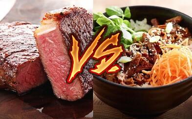 Rozoznáš vegánske jedlo od mäsitého? Bratislavčania s tým mali problém a zeleninka im poriadne zachutila