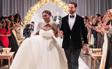 Rozprávková svadba svetovej tenistky Sereny Williams v New Orleans. Ktorý módny dom má na svedomí jej svadobné šaty?