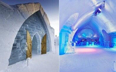 Rozprávkový hotel v Quebecu vybudovaný iba zo snehu a ľadu vás očarí už na prvý pohľad