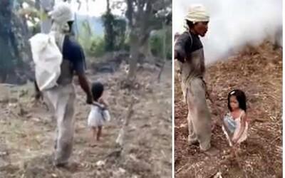 Roztomilé 5-ročné dievčatko každý deň vodí svojho slepého otca do práce. Svojou nevinnosťou si získala srdcia celého internetu