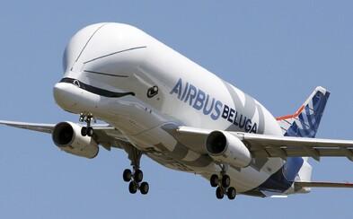 Roztomilé letadlo Airbus Beluga XL, které vypadá jako mořský tvor, uskutečnilo svůj první provozní let