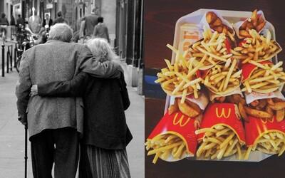 Roztomilý pár dôchodcov chodí do McDonald's všetkých 7 dní v týždni posledných 23 rokov